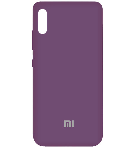 Чехол Silicone case для Xiaomi RedMi 9A 2020 (lilac purple)
