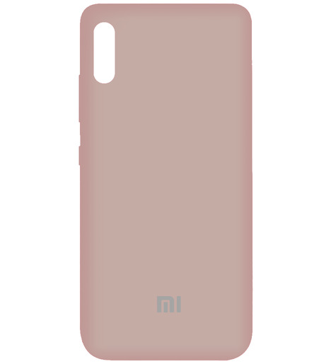 Чехол Silicone case для Xiaomi RedMi 9A 2020 (rose powder)