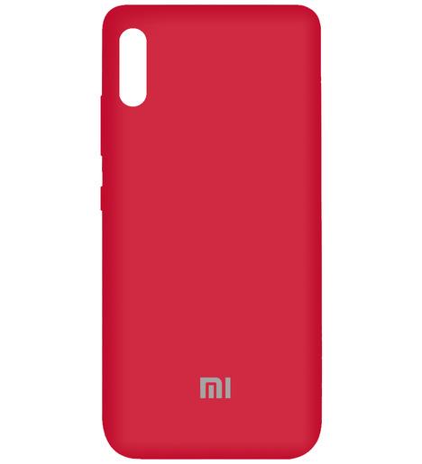 Чехол Silicone case для Xiaomi RedMi 9A 2020 (bordo)