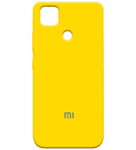 Чехол Silicone case для Xiaomi RedMi 9C 2020 (yellow)
