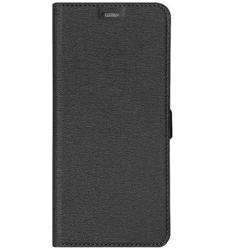 Чехол с флипом DF для Samsung Galaxy A02 (black)