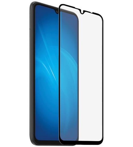 Защитное стекло DF для Xiaomi Redmi 9A/Redmi 9C (black)