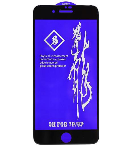 Защитное стекло RINBO/Lizard для iPhone 7 Plus/iPhone 8 Plus (black)