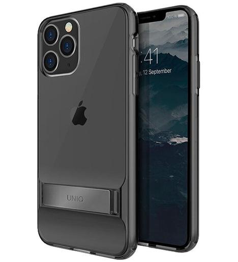 Чехол Uniq для iPhone 11 Pro Max Cabrio stand Smoke grey