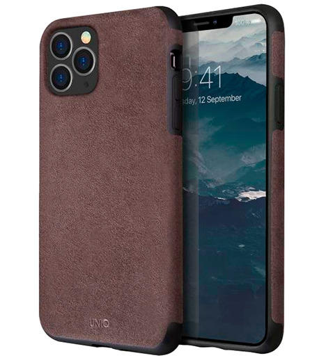 Чехол Uniq для iPhone 11 Pro Max Sueve Grey