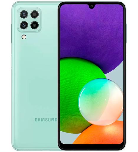 Смартфон Samsung Galaxy A22 4/128Gb Мятный