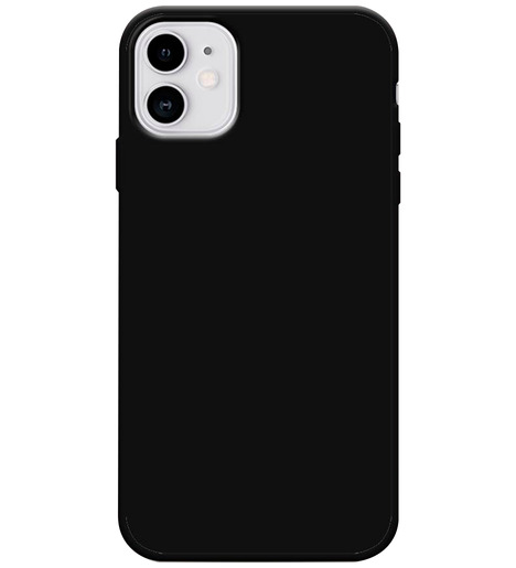 Чехол силиконовый Slim matte iPhone 11 (black)