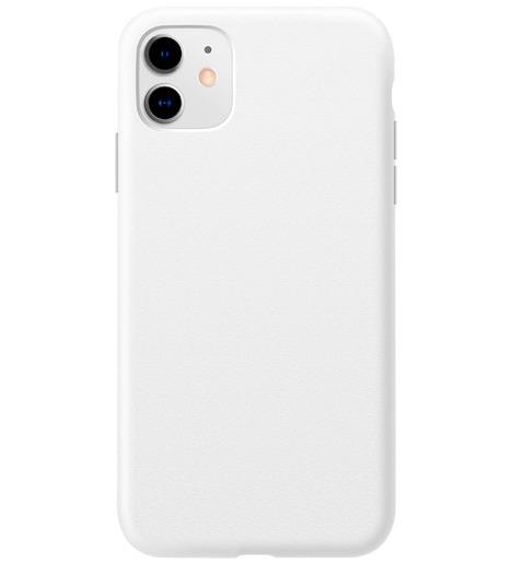 Чехол силиконовый Slim matte iPhone 11 (white)