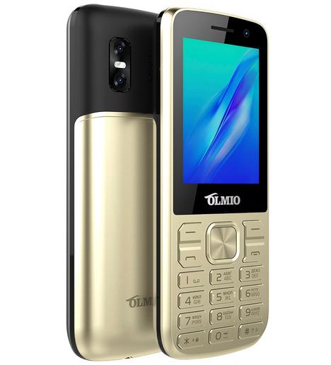 Мобильный телефон Olmio M22 (золото)