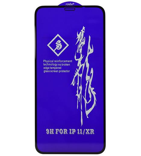 Защитное стекло RINBO для iPhone XR/iPhone 11 (black)