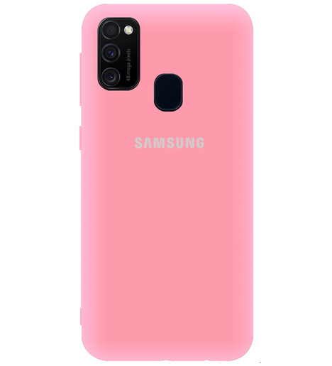 Чехол однотонный для Samsung M21/M215f/M30S (Pink)