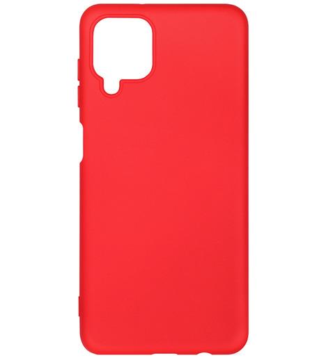Чехол силиконовый DF для Samsung Galaxy A12 (red)
