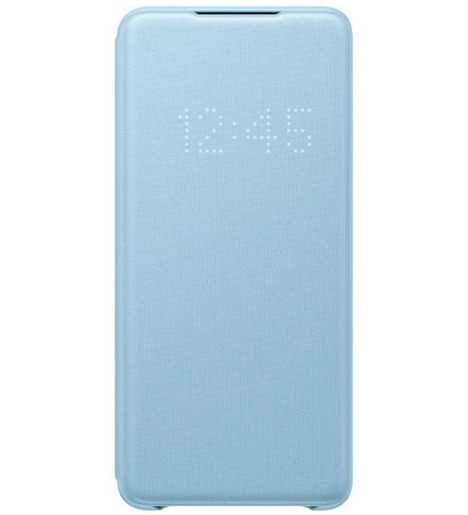 Чехол (флип-кейс) Samsung Galaxy S20+ Smart LED View Cover голубой (EF-NG985PLEGRU)