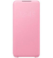 Чехол (флип-кейс) Samsung Galaxy S20+ Smart LED View Cover розовый (EF-NG985PPEGRU)