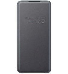 Чехол (флип-кейс) Samsung Galaxy S20 Ultra Smart LED View Cover серый (EF-NG988PJEGRU)