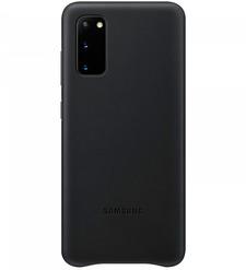 Чехол (клип-кейс) Samsung Galaxy S20 Leather Cover черный (EF-VG980LBEGRU)