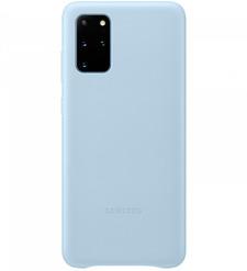 Чехол (клип-кейс) Samsung Galaxy S20+ Leather Cover голубой (EF-VG985LLEGRU)