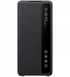Чехол (флип-кейс) Samsung Galaxy S20 Ultra Smart Clear View Cover черный (EF-ZG988CBEGRU