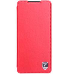 Чехол книга G-Case Slim Premium для Xiaomi Redmi Note 10 Pro, красный