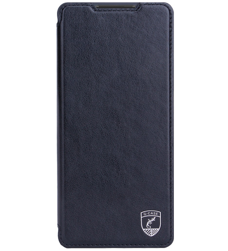 Чехол книга G-Case Slim Premium для Xiaomi Redmi Note 10 Pro, черный