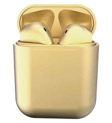 Наушники bluetooth TWS inpods metall, золото