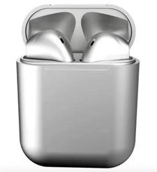 Наушники bluetooth TWS inpods metall, серый