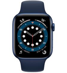 Смарт-часы Apple Watch Series 6 44mm Синий алюминий
