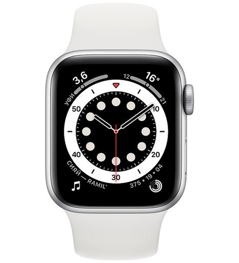 Смарт-часы Apple Watch Series 6 40mm Серебристый алюминий