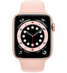 Смарт-часы Apple Watch Series 6 44mm Золотистый алюминий