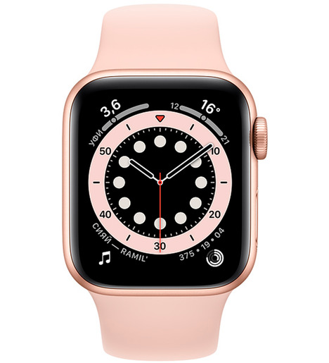 Смарт-часы Apple Watch Series 6 40mm Золотистый алюминий