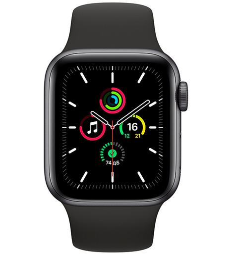 Смарт-часы Apple Watch SE 40mm Серый космос алюминий