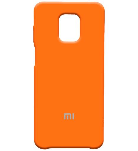 Чехол Silicone case для Xiaomi Redmi Note 9 Pro/note 9S/note 9 Pro Max абрикос