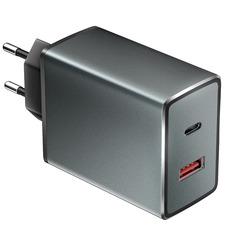СЗУ OLMIO 2USB, 38W, 6A, QC3.0, PowerDelivery