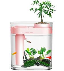 Аква-ферма Xiaomi Descriptive Geometry Amphibious Fish Tank Pink