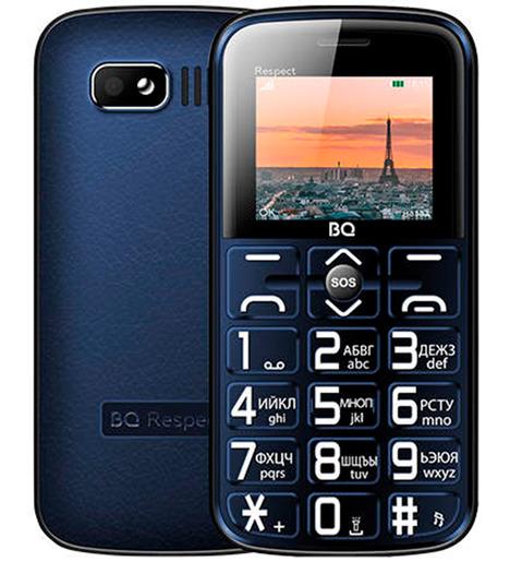 Мобильный телефон BQ-1851 Respect Синий