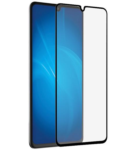Защитное стекло DF для Samsung Galaxy A41 (black)