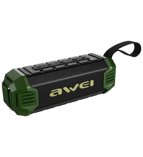 Портативная колонка Awei Y280 Green