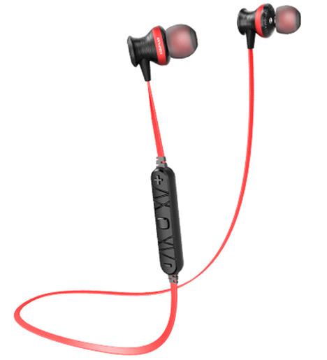 Наушники Bluetooth sport  Awei A980 Black-red