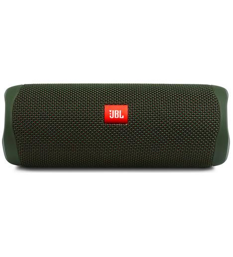 Портативная акустика  JBL FLIP 5, зеленая