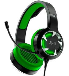 Наушники полноразмерные Smartbuy SBHG-8200 RUSH MACE игровые зеленые