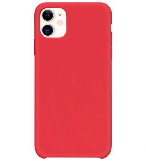 Чехол Silicone case для iPhone 11 Bordo (без лого)