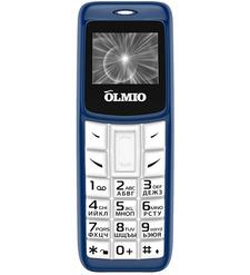 Мобильный телефон OLMIO A02 синий-белый