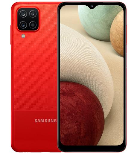 Смартфон Samsung Galaxy A12 3/32GB Красный