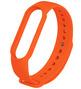 Силиконовый ремешок для Mi Band 5 оранжевый