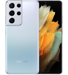 Смартфон Samsung Galaxy S21 Ultra 16/512GB Серебристый