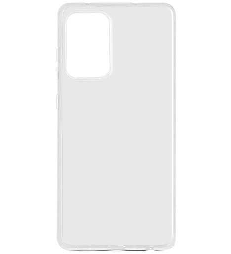 Чехол силиконовый DF для Samsung Galaxy A72 (прозрачный)