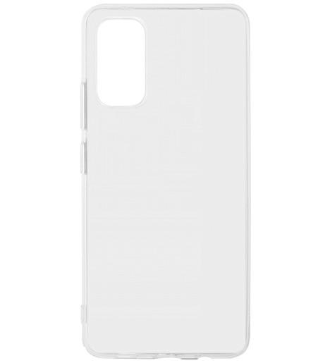 Чехол силиконовый DF для Samsung Galaxy A02S (прозрачный)