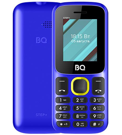 Мобильный телефон BQ-1848 Step+ Blue+Yellow