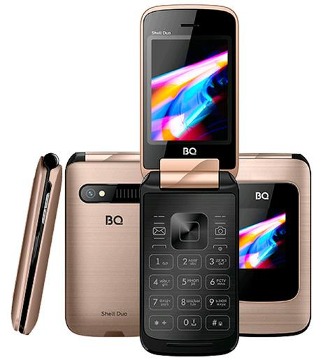 Мобильный телефон BQ 2814 Shell Duo Золотистый