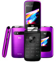 Мобильный телефон BQ 2814 Shell Duo Зеркальный Фиолетовый